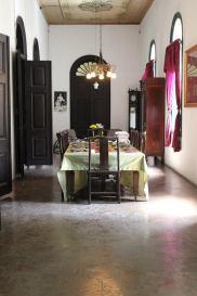 Ruang makan di Rumah Tjong A Fie