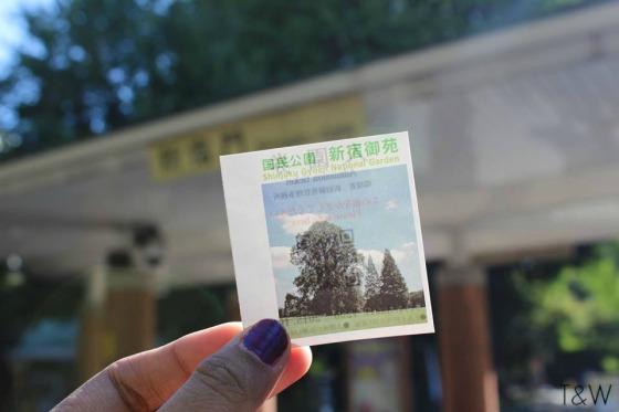 Tiket Shinjuku Gyoen