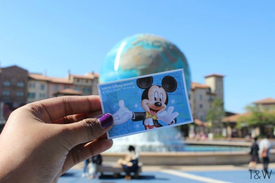 Disneysea ticket