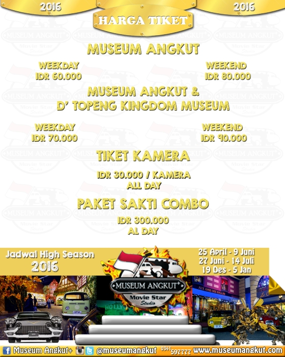 Museum Angkut Admission Price