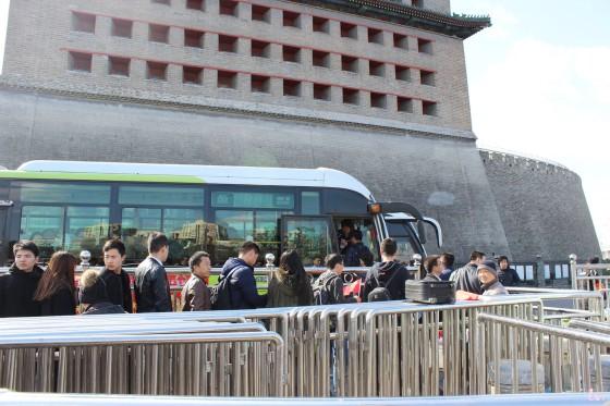 Bus 877 Deshengmen Badaling