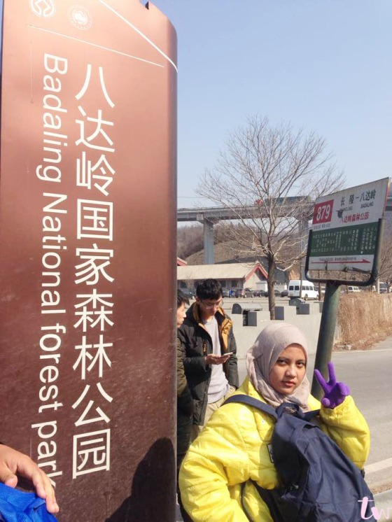 Bus Stop Badaling Ski Resort 2