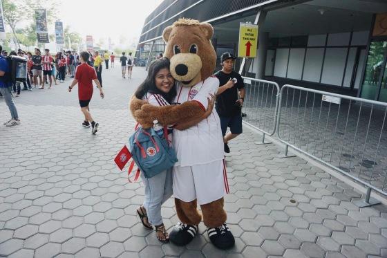Bernie, the FC Bayern Mascot
