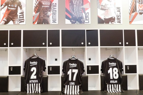 Home changing room - Vodafone Park